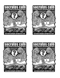 Socrates Cafe Flyer